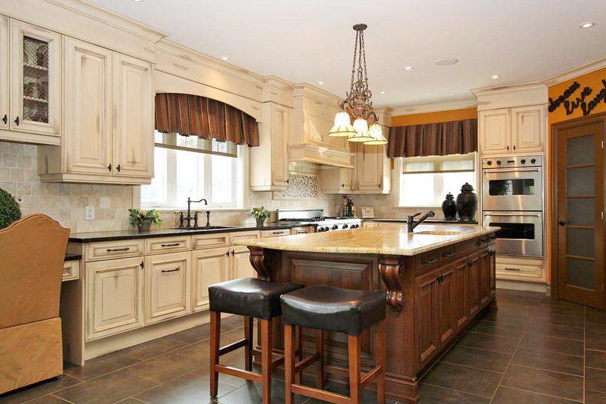 美式风格厨房装修效果图.jpg