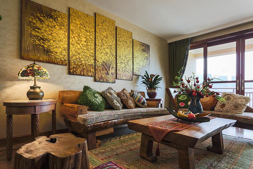 整体家装东南亚风格设计说明,整体家装东南亚风格设计特点