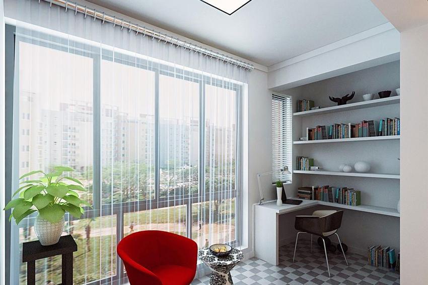 整体家装开放式书房设计技巧,整体家装开放式书房设计要点