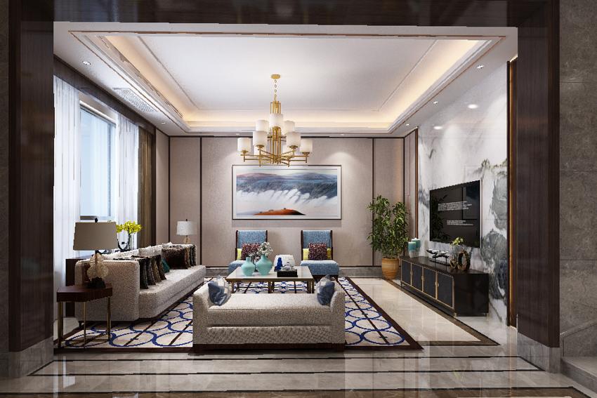 整体家装现代中式客厅怎么装修?整体家装现代中式客厅装修注意事项