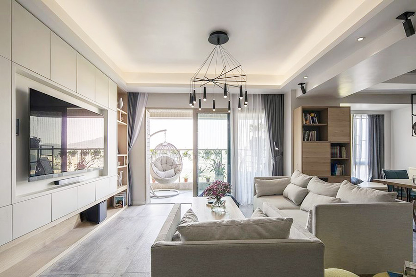 关于现代简约风格的客厅介绍,现代简约风格客厅有哪些特点?