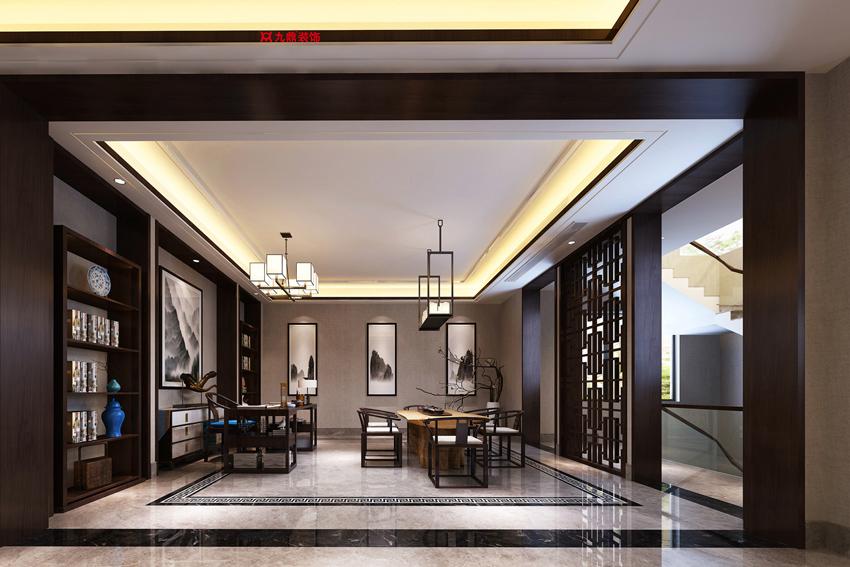 新中式书房到底要怎么装修?新中式书房设计的特点与优势