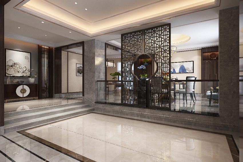 新中式的表现手法和新中式风格在当代室内设计中的运用
