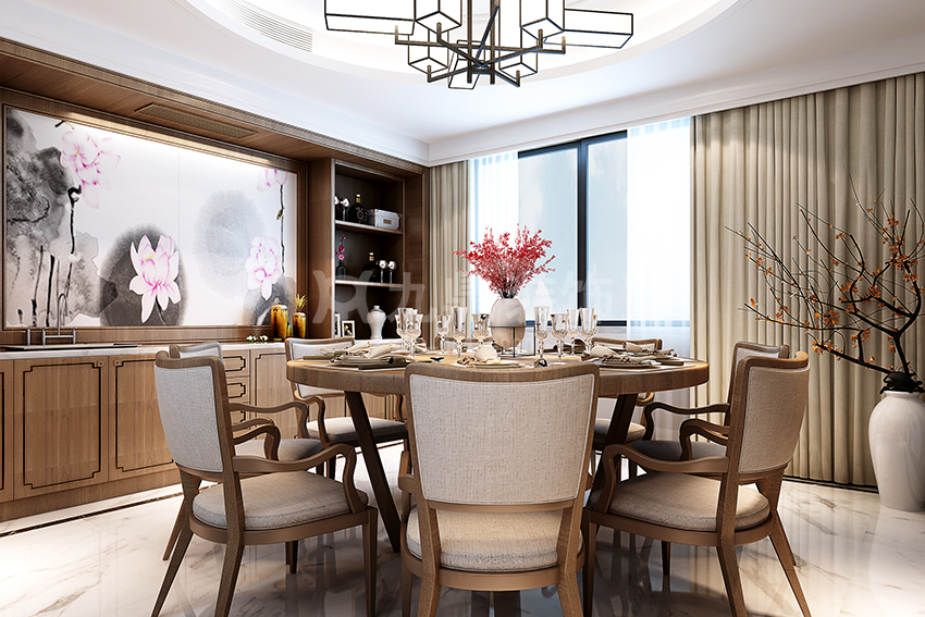 欧美式轻奢风格介绍,软装设计的欧美式轻奢风格元素