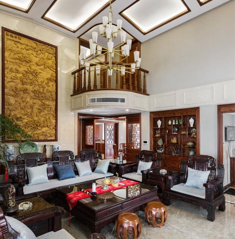 伊萨卡国际城别墅装修案例